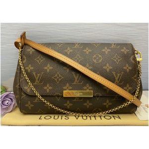 Louis Vuitton Favorite MM Monogram Clutch(FL3152)